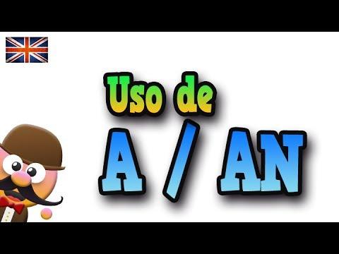 Uso De A Y An Aprende Ingles Con Mr Pea English For Kids Youtube