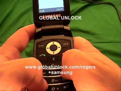 how to unlock any samsung rogers phone youtube rh youtube com