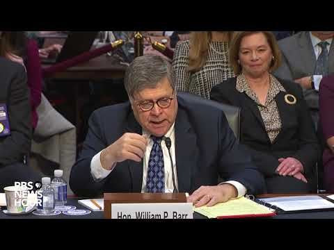 WATCH: Barr says memo on Mueller investigation was 'entirely proper'