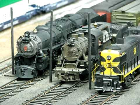 NY Society of Model Engineers O-Gauge Layout