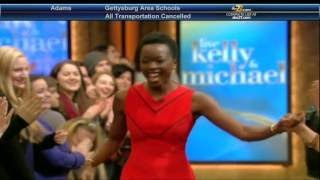 Danai Gurira interview Live! With Kelly and Michael 02.15.2016