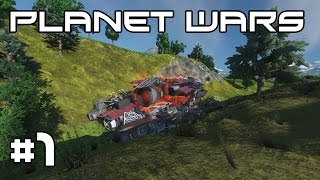 Space Engineers Planet Wars - Damn it Dave! #1