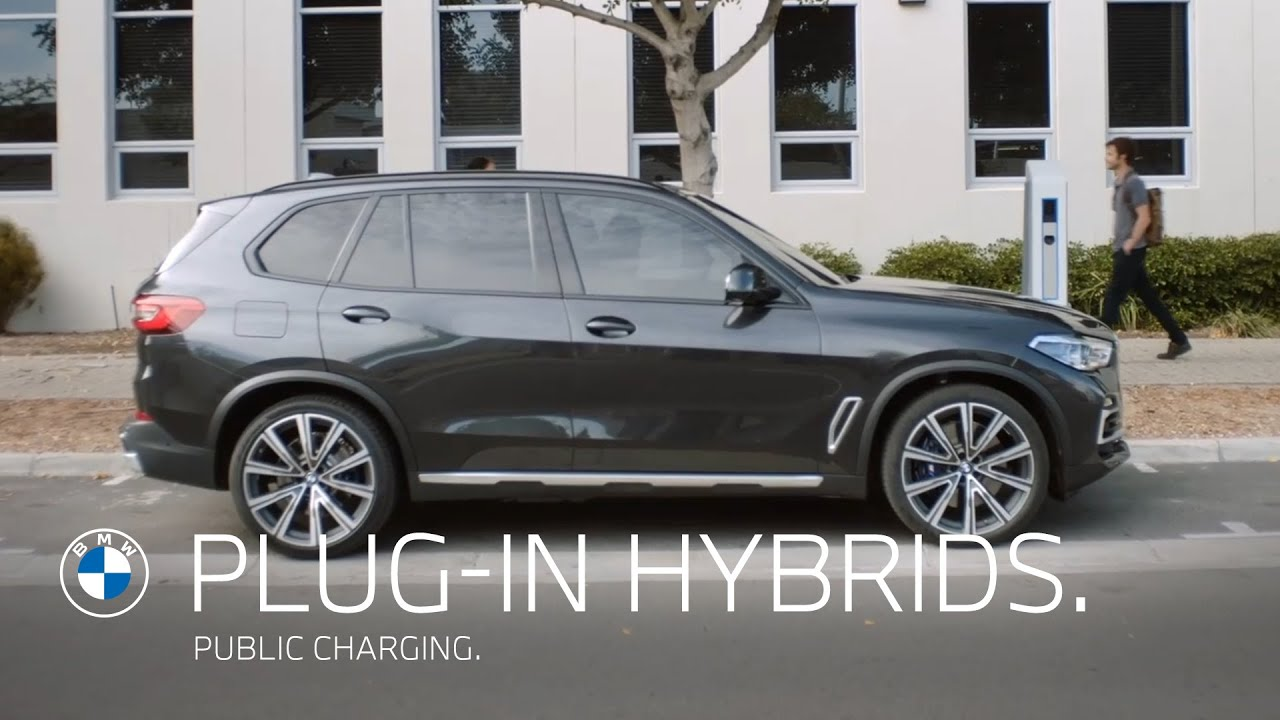 Public Charging. BMW Plug-In Hybrids and fully electric vehicles.