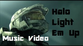Halo Music Video - Light Em Up (FallOutBoy)
