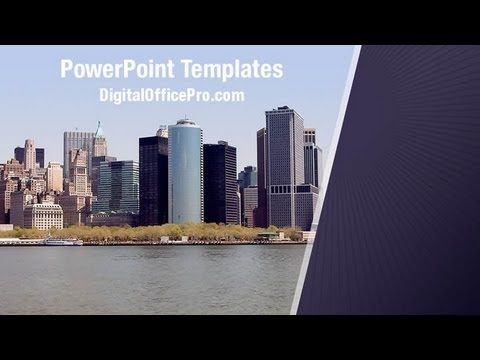 New york city powerpoint template backgrounds digitalofficepro new york city powerpoint template backgrounds digitalofficepro 04983w toneelgroepblik Image collections