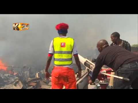 Property worth millions of shillings destroyed in Gikomba fire