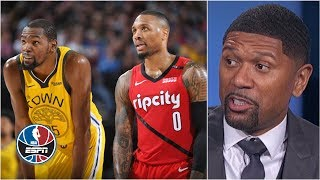 Download Blazers have a 'puncher's chance' if Kevin Durant misses more games – Jalen Rose | After the Buzzer Mp3 and Videos
