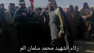 رثاء الشهيد محمد سلمان ياسر النصرالله
