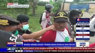 TNI-Polri Bubarkan Paksa Blokade Massa di Pemakaman Khusus Jenazah Covid-19