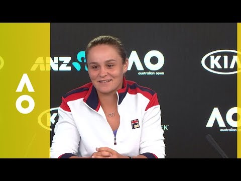 Ash Barty pre-tournament press conference | Australian Open 2018
