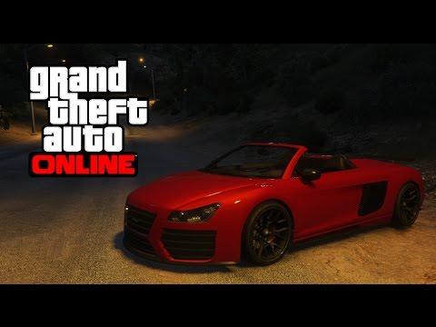 "GTA Online Тест Драйв Шоу ""Колеса Либерти"". Обзор Obey 9F Cabrio"