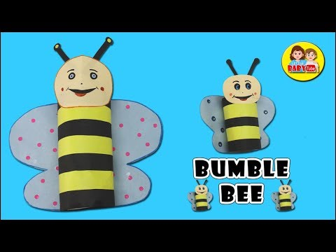 How To Make Bumblebee Pen Stand | Handmade Bumblebee | Paper Crafts
