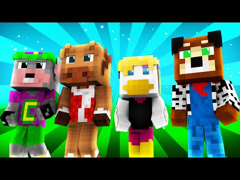 FNAF World - CHUCK E. CHEESE'S! (Minecraft Roleplay) Night 8