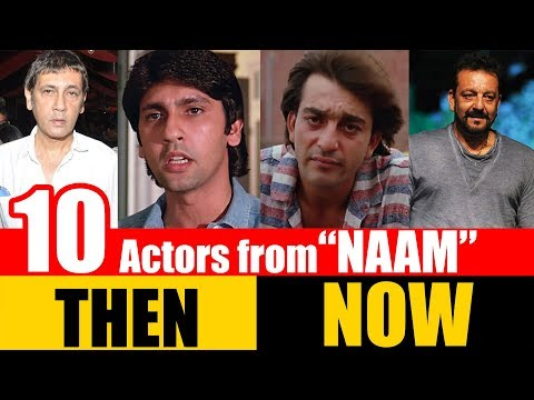 "10 Bollywood Actors from ""NAAM"" 1986 