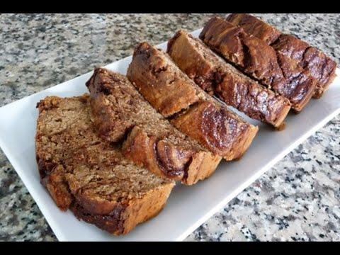 Whole Wheat Banana Bread recipe, how to, tutorial