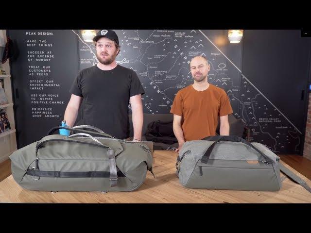 Dwie nowe torby Duffle w linii Peak Design Travel Line (wersja PL)