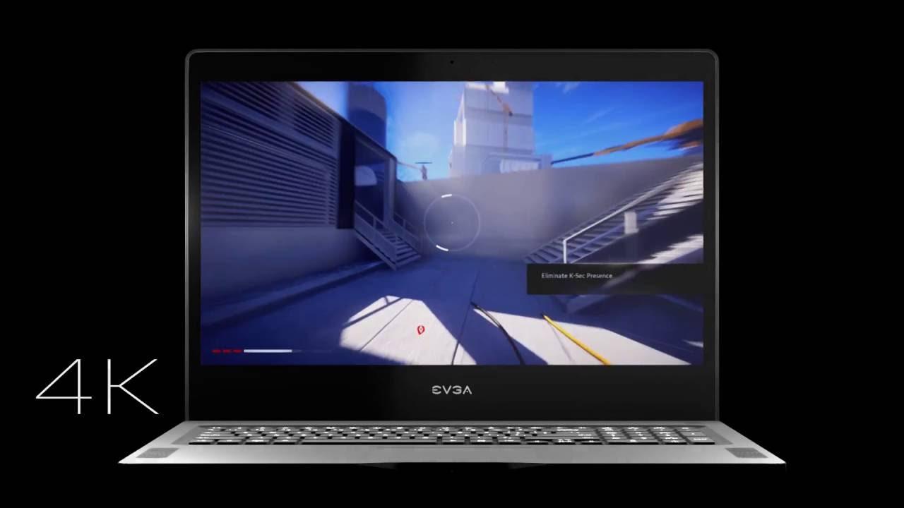 EVGA SC17 1070 Gaming Laptop - YouTube