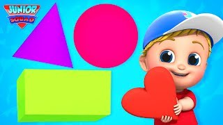 Shapes Song | Learn Shapes For Kids | Nursery Rhymes Songs For Kids