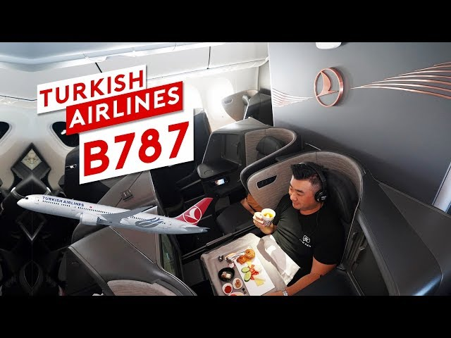 Inside Turkish Airlines New B787 Dreamliner + Istanbul Lounge