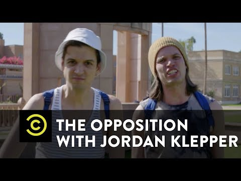 Conservative Affirmative Action: Taking Down Big College - The Opposition w/ Jordan Klepper