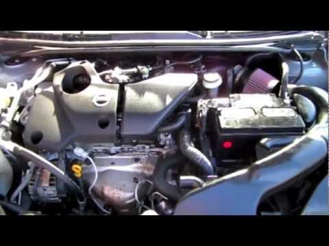 08 Nissan Sentra SE-R Spec V K&N Typhoon Intake - YouTube