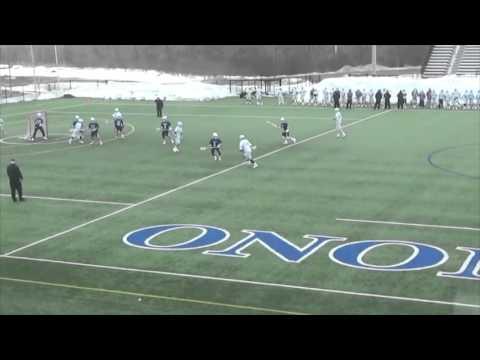 Tom Koster OCC Lacrosse Freshman Year 2015 highlights
