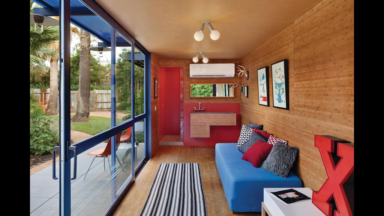 Genial Shipping Container Guest House By Jim Poteet   YouTube