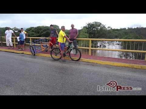 Solicita Félix Serrano atención de CAO al puente de Cheguigo en Ixtepec