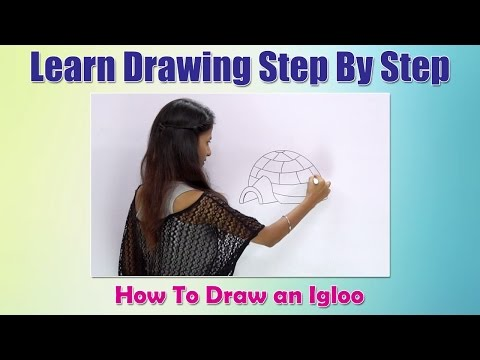 how-to-draw-an-igloo-|-learn-drawing-step-by-step-for-children-|-drawing-for-beginners