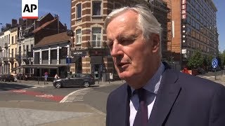 Barnier expresses 'full respect' for outgoing May