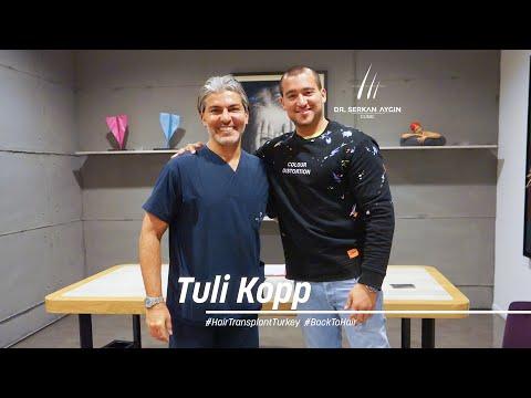 Tuli Kopp's 3 days in Istanbul! #HairTransplantinTurkey