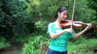 A River Flows In You - Yiruma arranged by Lindsey Stirling (Violin Cover by Kimberly McDonough)