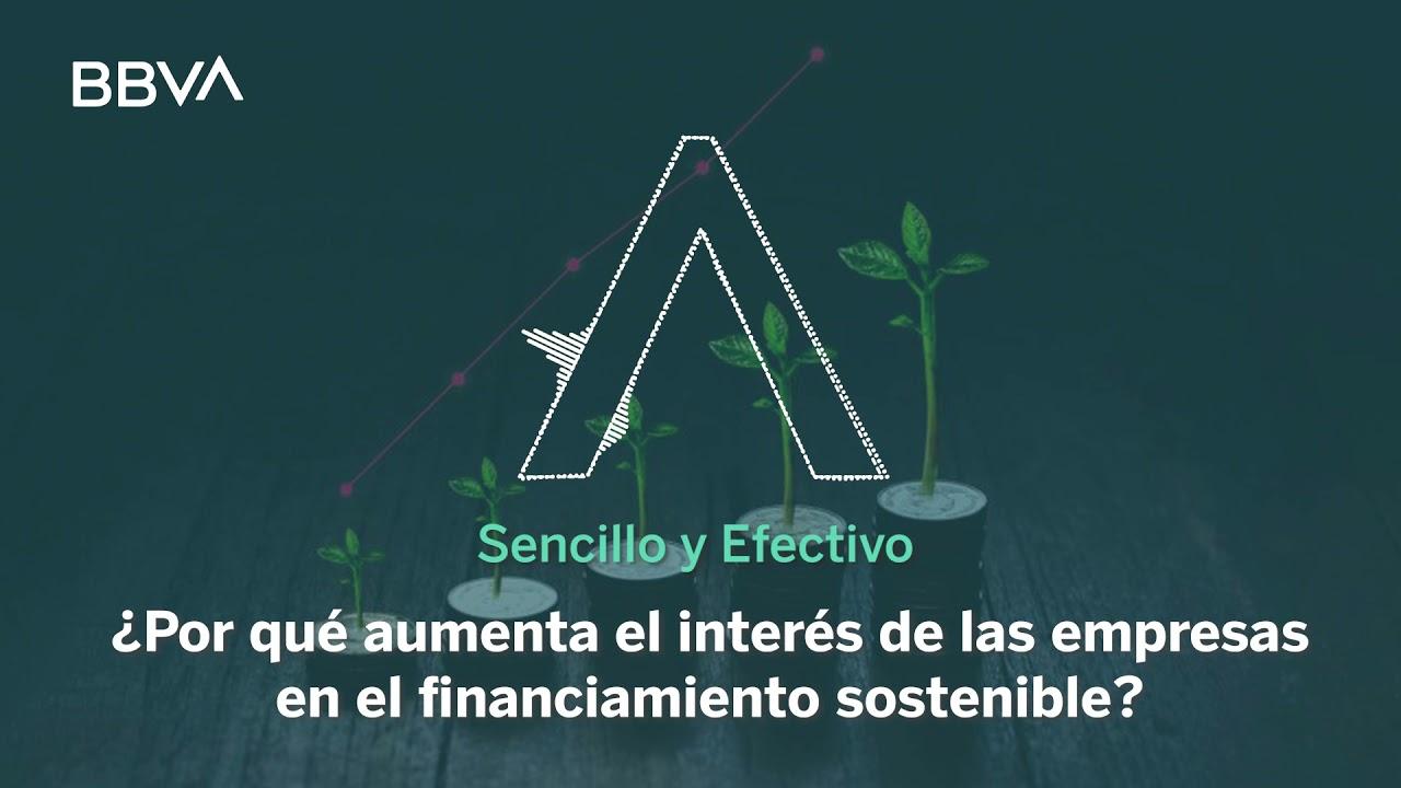 ¿Por qué aumenta el interés de las empresas por el financiamiento sostenible?