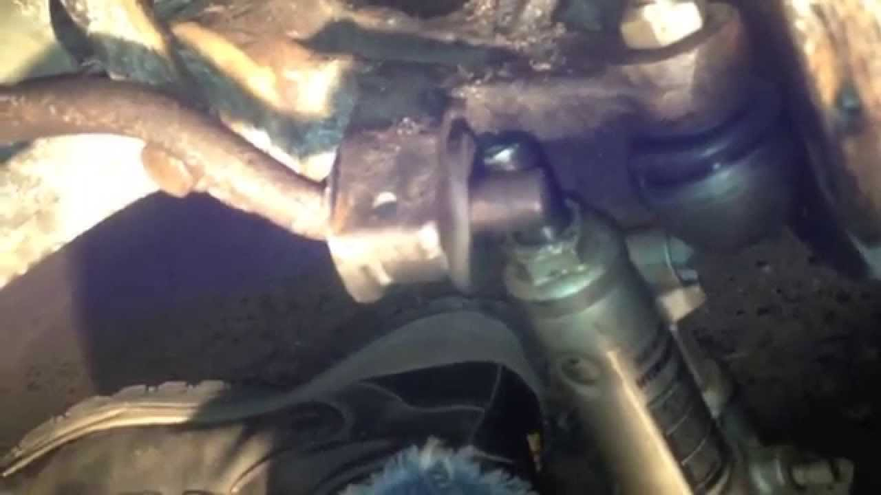 mercedes w210 front cv axle and ball joint replacement