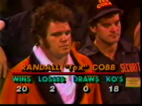 Larry Holmes vs Tex Cobb