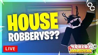 🔴 Jailbreak house robbery?? | Simon says + Hide & Seek | Safe giveaways! | Roblox Livestream 🔴