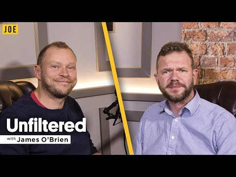 Robert Webb talks to James O'Brien in episode three of JOE.co.uk's video podcast Unfiltered