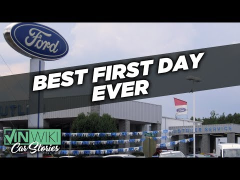 The Best First Day EVER Selling Cars