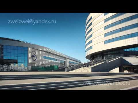 MINSK, Belarus. Time Lapse Video.