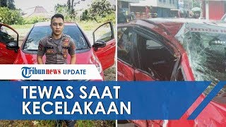 Polisi Polda Sulut Meninggal Setelah Kecelakaan Tunggal Tabrak Pohon