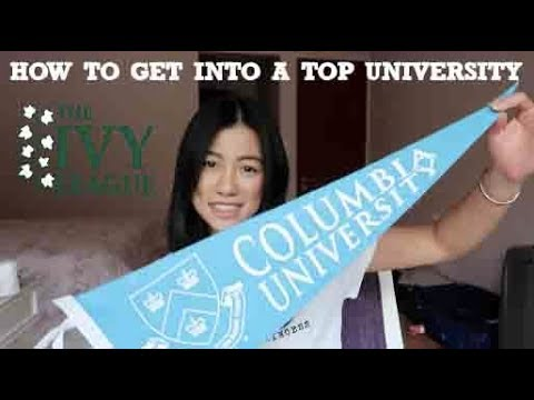 I GOT INTO COLUMBIA + TIPS TO GET INTO A TOP UNIVERSITY || #