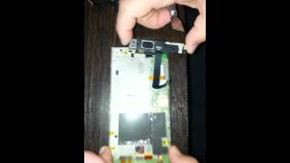 lenovo K900...Замена гнезда USB ( ГНЕЗДА ЗАРЯДКИ  на Lenovo K900