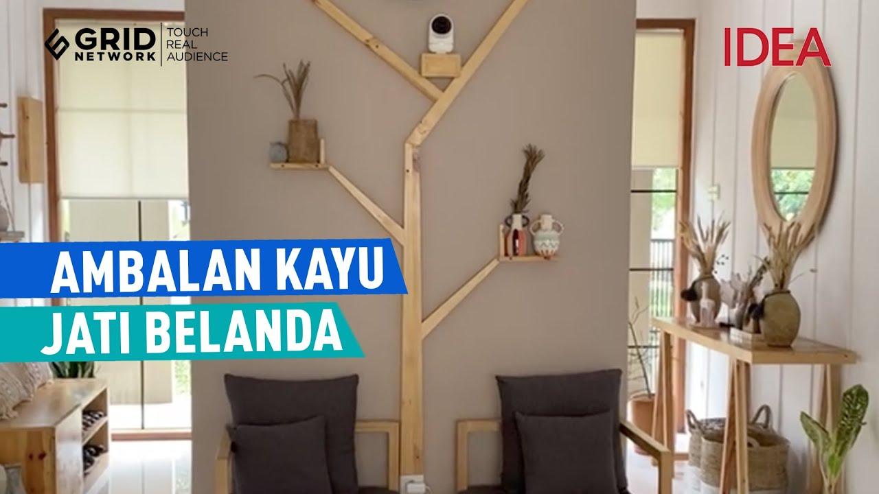 Ambalan Kayu Jati Belanda | IDEA RUMAH