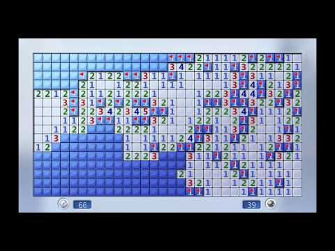Minesweeper: 99 Mines In 128s