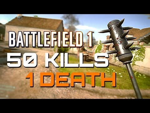 Battlefield 1: 50 kills 1 Death - They Shall Not Pass DLC (PS4 PRO Multiplayer Gameplay)