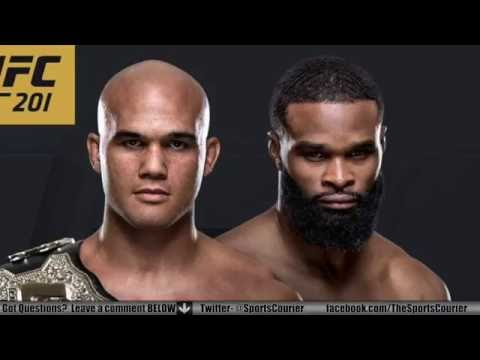UFC 201: Lawler vs. Woodley, Holm vs. Shevchenko Media Conference Call