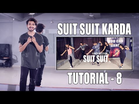 Dance Tutorial Suit Suit Karda | Step By Step | Vicky Patel Choreography | Hindi | India