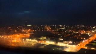 Timelapse с небоскреба Высоцкий 9 мая 2014