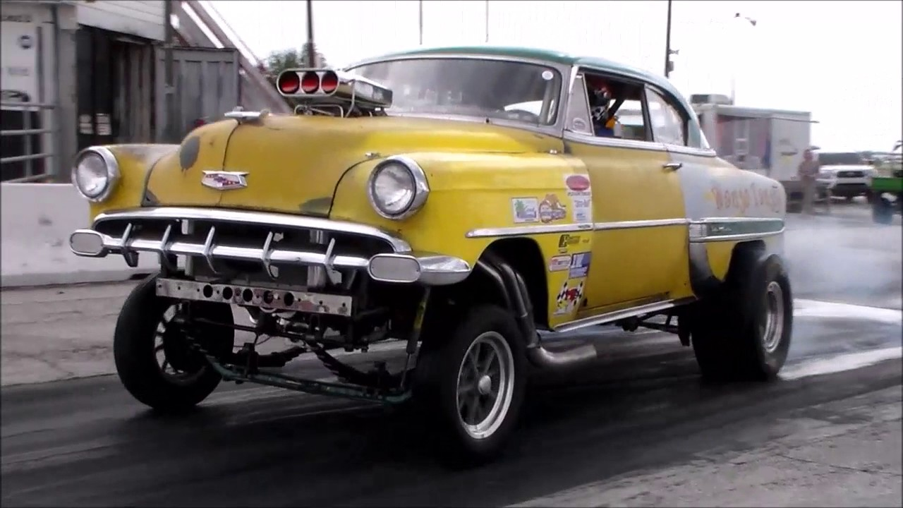 Old Chevy Cars >> OLD SCHOOL BLOWN GASSER - YouTube