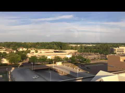 Indy Timelapse 29seconds our the window at the Residences on indy 500 eve